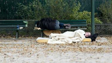 Avec l'hiver, de nouvelles places d'hébergement d'urgence vont être mises en place en Ile-de-France.