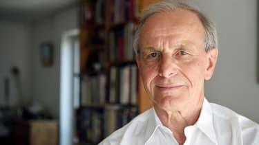 Le généticien Axel Kahn le 4 avril 2015 à Paris