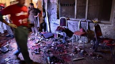 Les lieux du premier attentat survenu le 10 juillet