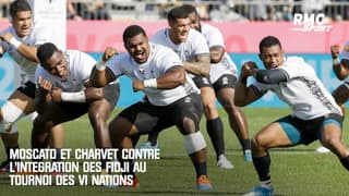 Moscato et Charvet contre l'intégration des Fidji au Tournoi des VI nations