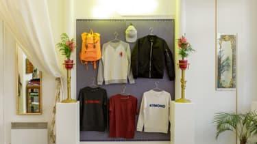 Le showroom de Kymono située dans le marais à Paris.