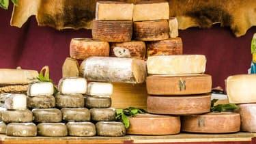 Image d'illustration d'un plateau de fromages