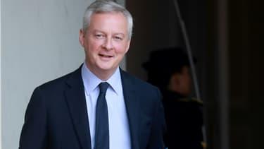 Bruno Le Maire quitte l'Élysée, le 15 juillet 2020 à Paris