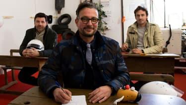 """Philippe Lellouche, Bruce Jouanny et Le Tone, le trio de présentateurs de """"Top Gear France"""""""