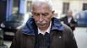 Régis de Camaret quittant la cour d'assises du Rhône, à Lyon, le 15 novembre 2012