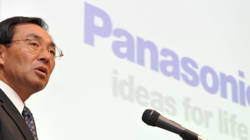 Kazuhiro Tsuga, le président de Panasonic, qui vient d'abaisser ses prévisions.
