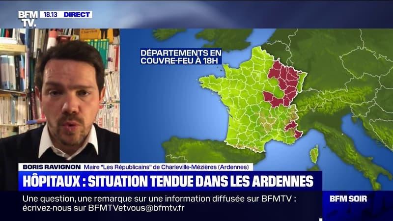 Le maire de Charleville-Mézières, Boris Ravignon, plaide pour