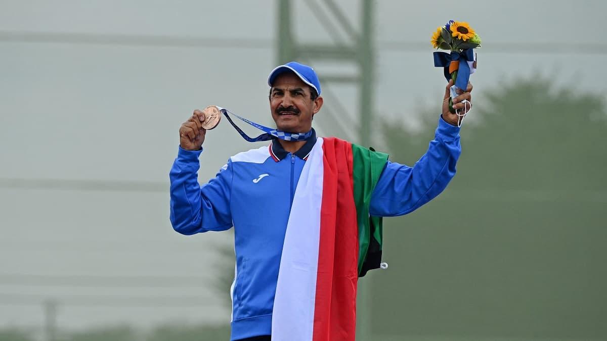 la fierté retrouvée du Koweïtien Al-Rashidi, médaillé à 57 ans