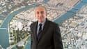 Gérard Collomb en février 2012. S'il est réélu en mars, le sénateur-maire PS de Lyon prendra la tête de la première métropole française.