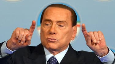 Silvio Berlusconi, le 25 janvier 2013
