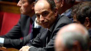 Jean-François Copé à l'Assemblée Nationale à Paris, le 24 janvier 2017