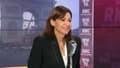 Anne Hidalgo, au micro de BFMTV-RMC, le 28 octobre 2021