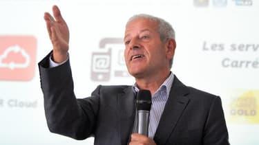 Franck Cadoret, le directeur de la distribution du groupe Canal Plus.