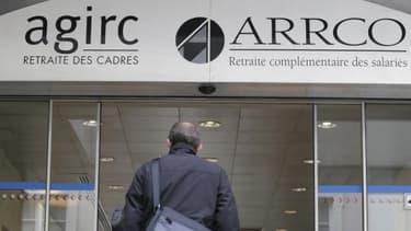 Les régimes de retraites complémentaires pour le privé sont gérés par l'Agirc et l'Arrco