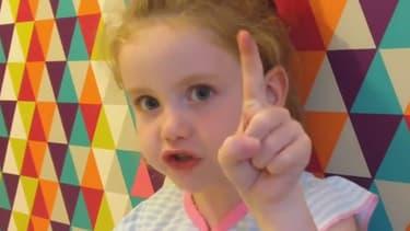 Brooke Blair, 5 ans, a adressé un message à Theresa May.