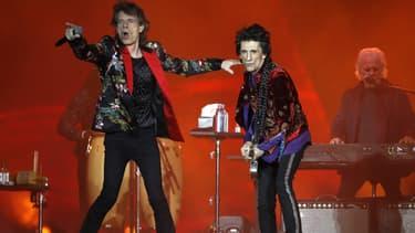 Les Rolling Stones en concert à Paris en octobre 2017