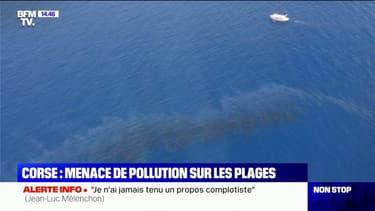Pollution aux hydrocarbures en Corse: la piste d'un dégazage d'un navire à l'étude