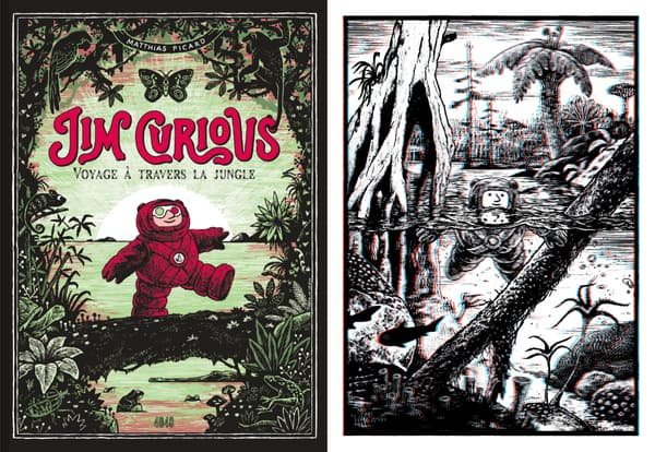 Jim Curious - Voyage à travers la jungle