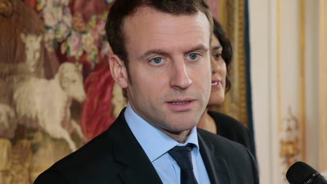 Le ministre de l'Economie Emmanuel Macron, le 7 mars 2016.