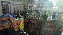 Au plus fort de la manifestation, 2000 personnes étaient présentes à Montpellier.