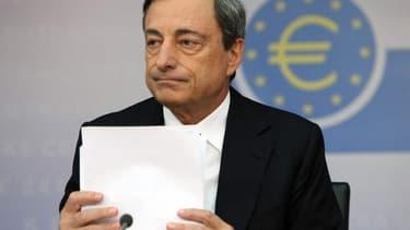 Mario Draghi subit actuellement les pressions de Berlin et de Paris