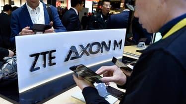 Le groupe chinois de télécoms est en cessation d'activité après des sanctions américaines.