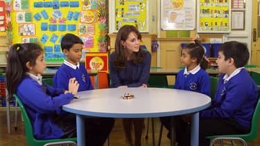 Kate Middleton dans une vidéo pour l'association Place2Be