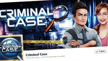 Criminal Case, produit par une petite start-up française, est le deuxième jeu le plus populaire sur Facebook.