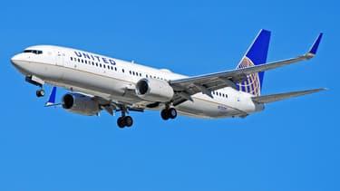 Un avion de la compagnie aérienne américaine United Airlines.