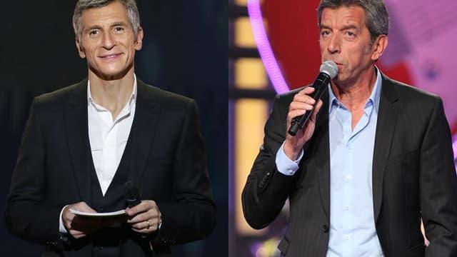 Nagui et Michel Cymès en tête du classement des animateurs préférés des français.