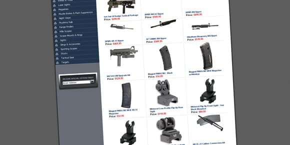 Les accessoires pour AR-15 se comptent par milliers, et à tous les prix.