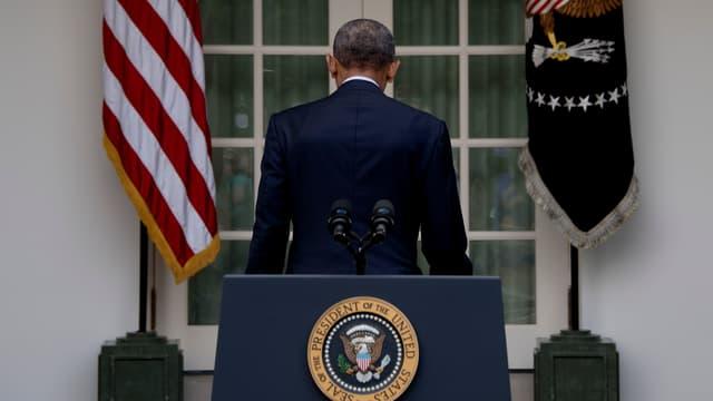 Barack Obama, en octobre 2016.