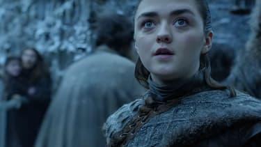 Maisie Williams alias Arya Stark dans Game of Thrones.