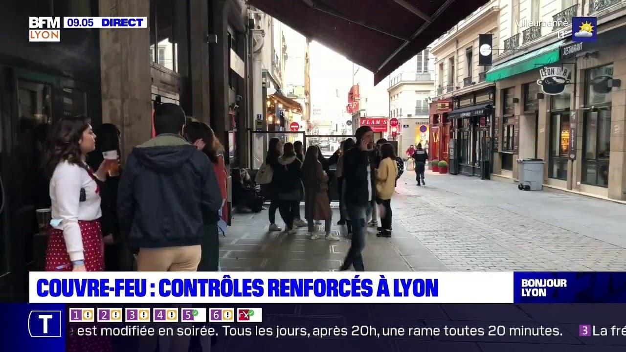 Couvre-feu: des contrôles renforcés dès ce week-end à Lyon