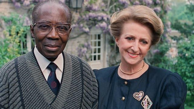 Colette Senghor, épouse de Léopold Sédar Senghor est décédée en Normandie