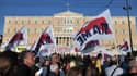 L'adoption de nouvelles mesures de rigueur a provoqué de nombreuses manifestations dimanche 28 avril en Grèce