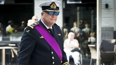 Le prince Laurent de Belgique à Hasselt, le 21 juillet 2016