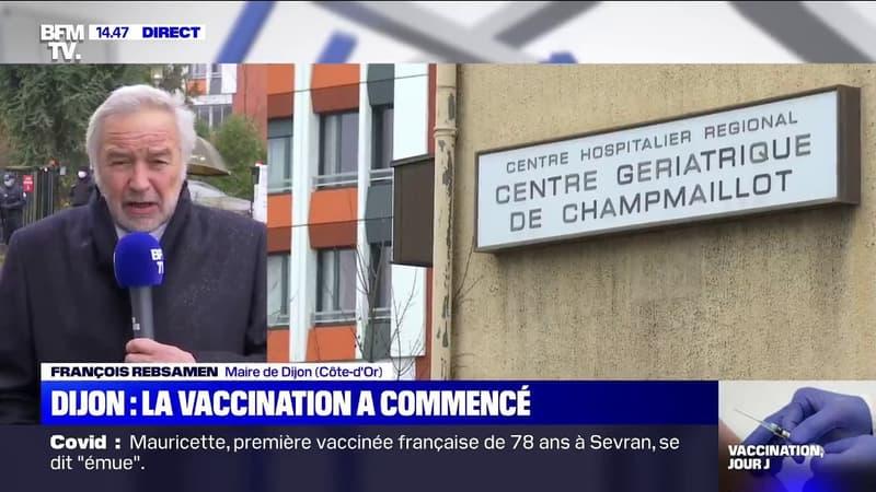 Dijon: trois personnes ont été vaccinées, dont
