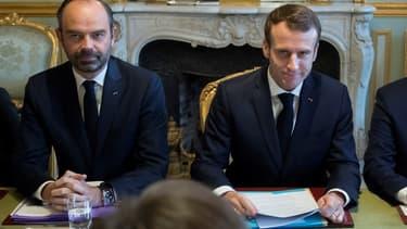 Edouard Philippe et Emmanuel Macron, le 27 novembre 2018.