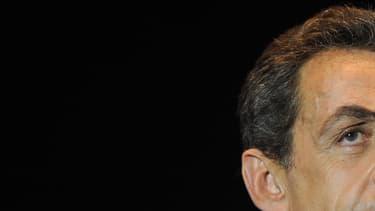 Fraîchement déclaré candidat, Nicolas Sarkozy est mis en examen dans deux affaires (photo d'illustration)