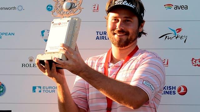 Victor Dubuisson vainqueur du Turkish Open