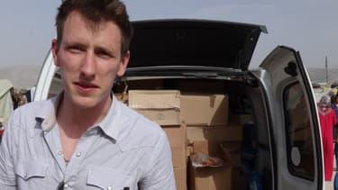 Peter Kassig à la frontière syrienne fin 2012.