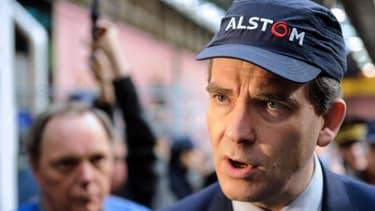 """Arnaud Montebourg veut protéger les entreprises """"stratégiques"""" comme Alstom."""