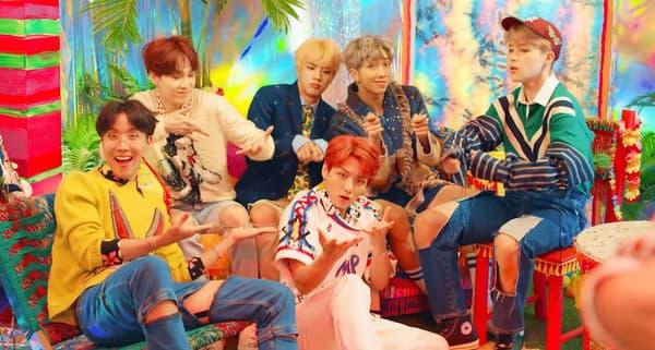 """Le clip de """"Idol"""" de BTS"""