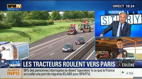Les agriculteurs en colère s'apprêtent à manifester à Paris
