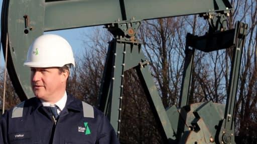 David Cameron, le Premier ministre britannique, veut accélérer le développement de l'exploitation du gaz de schiste au Royaume-Uni.