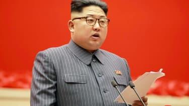 Le leader nord-coréen le 21 décembre 2017 à Pyongyang
