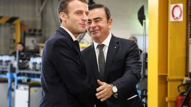 Les relations ont toujours été tendues entre Emmanuel Macron et Carlos Ghosn.