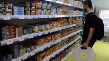 Les dépenses alimentaires ont augmenté en avril.