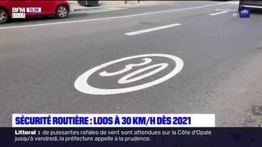 Sécurité routière: Loos à 30 km/h dès 2021